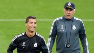 Ancelotti XI Cristiano Ronaldo