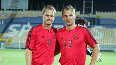 Frank and Ronald de Boer