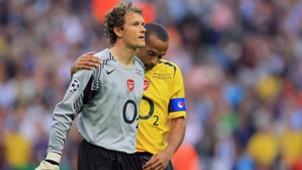 Jens Lehmann Thierry Henry Arsenal Barcelona