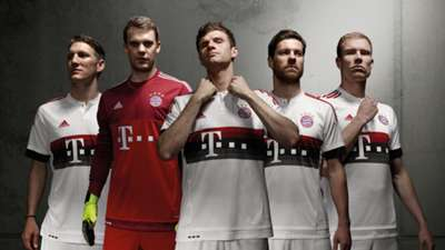 Bayern Munich away 2015-16