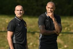 Roberto Martinez, Thierry Henry, Belgium