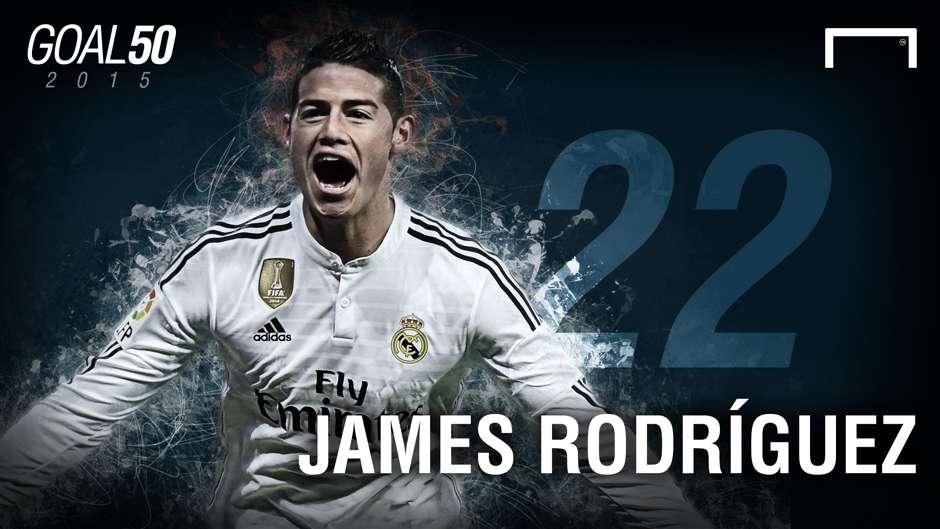 22 James Rodriguez G50