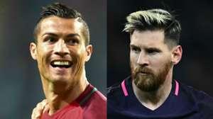 GFX Cristiano Ronaldo Lionel Messi