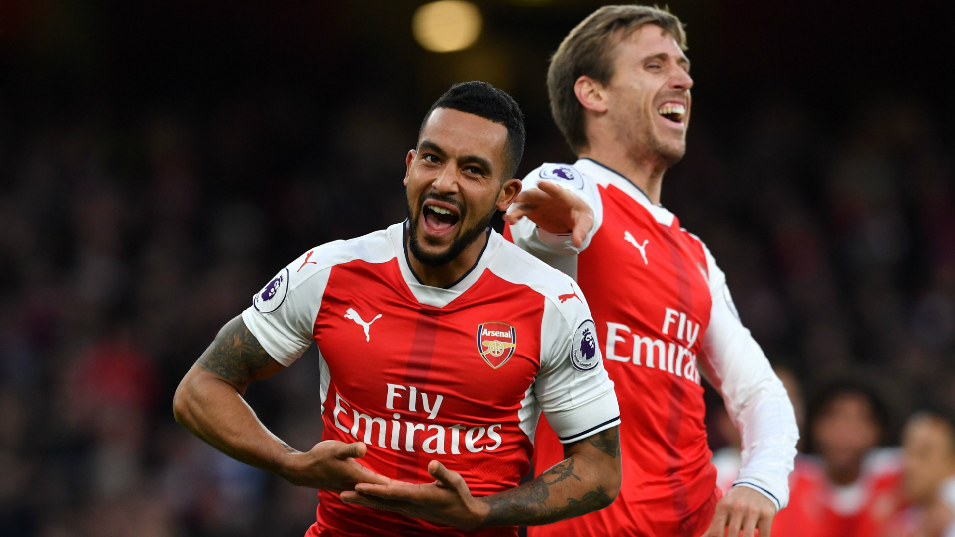 Theo Walcott Arsenal Bournemouth