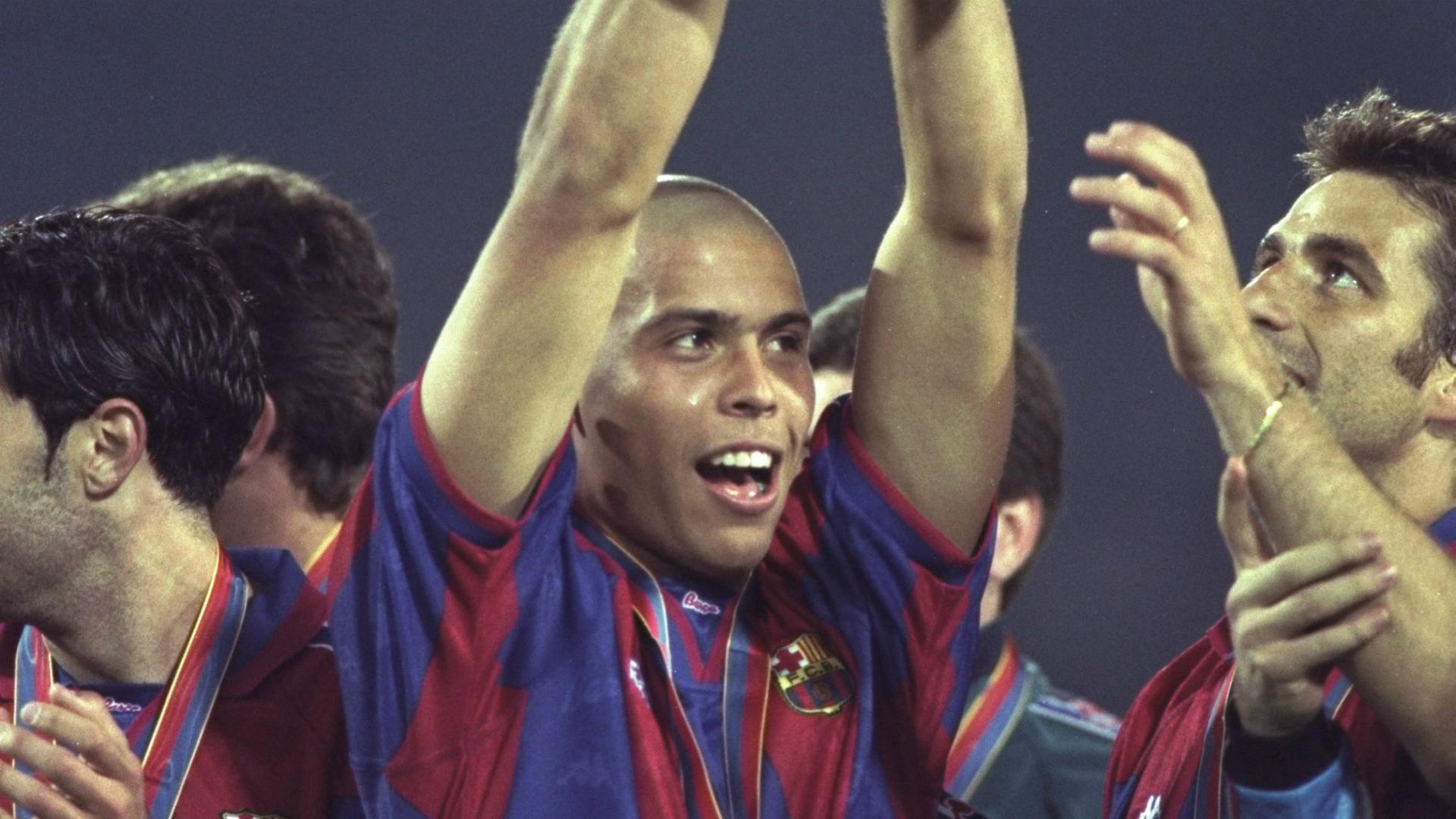 Ronaldo Nazario FC Barcelona