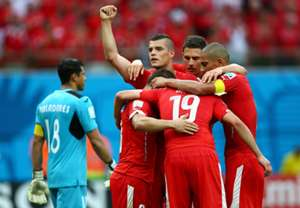 Xherdan Shaqiri 3 Honduras Switzerland 2014 World Cup Group E 25062014