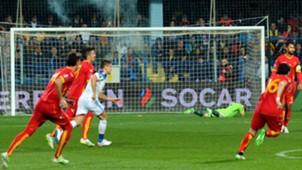 Igor Akinfeev Montenegro Russia Euro 2016 qualifier 03272015