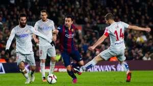 Xavi Arda Turan Koke Gabi Barcelona Atletico Madrid Copa del Rey 21012015