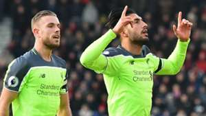Emre Can Liverpool Bournemouth