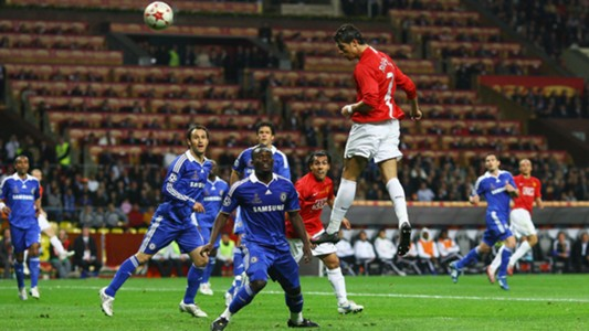 Cristiano Ronaldo Manchester United Chelsea Champions League final 2008