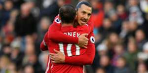 Rooney Manchester United Swansea City