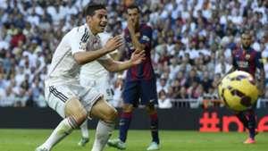 James Rodriguez Real Madrid Barcelona La Liga 25102014