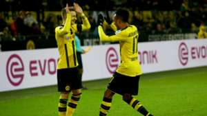 Pierre-Emerick Aubameyang Bundesliga Dortmund v Gladback 031216