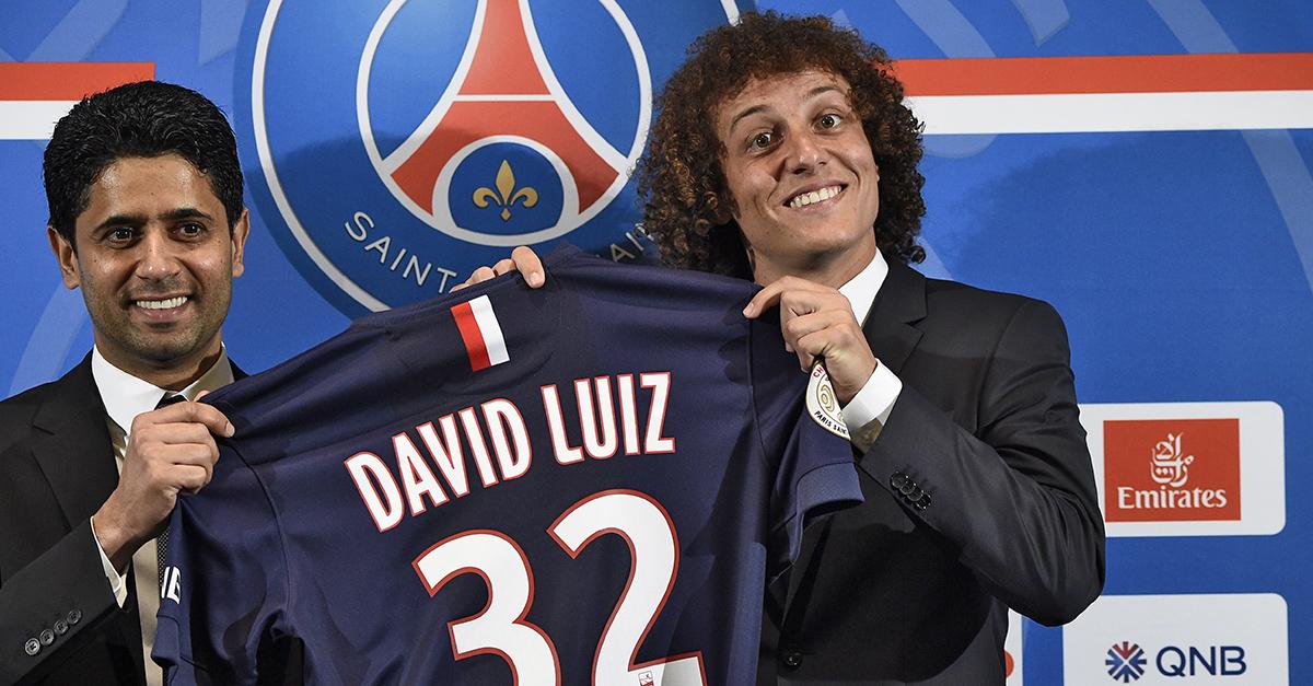 David Luiz PSG signing
