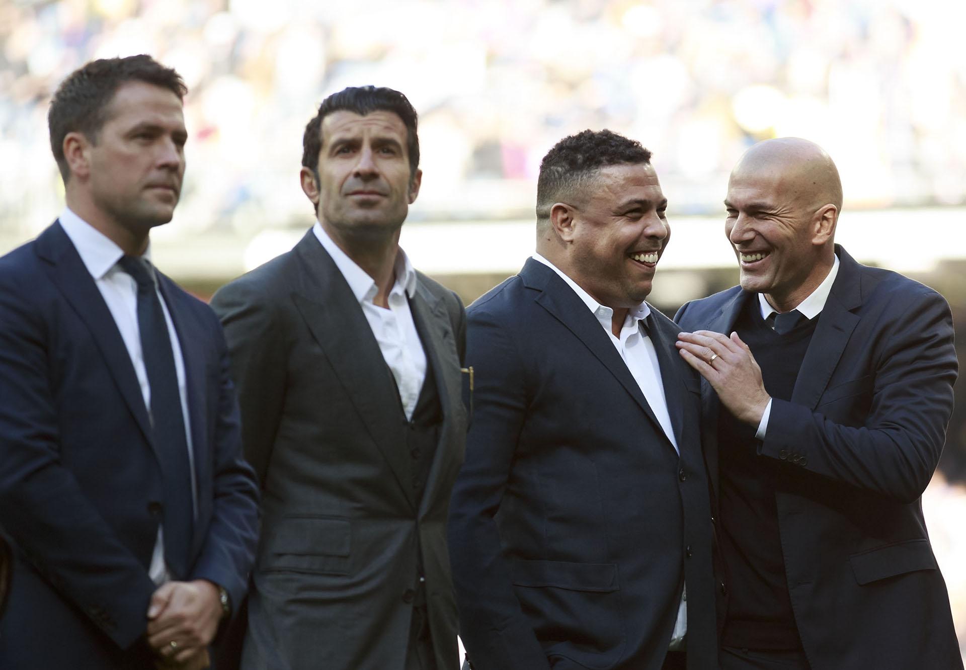 Michael Owen Luis Figo Ronaldo Zinedine Zidane