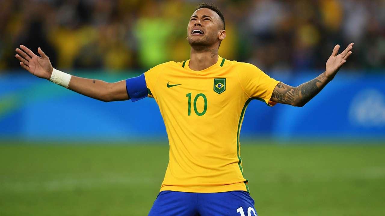 Neymar Brazil Germany Olympics