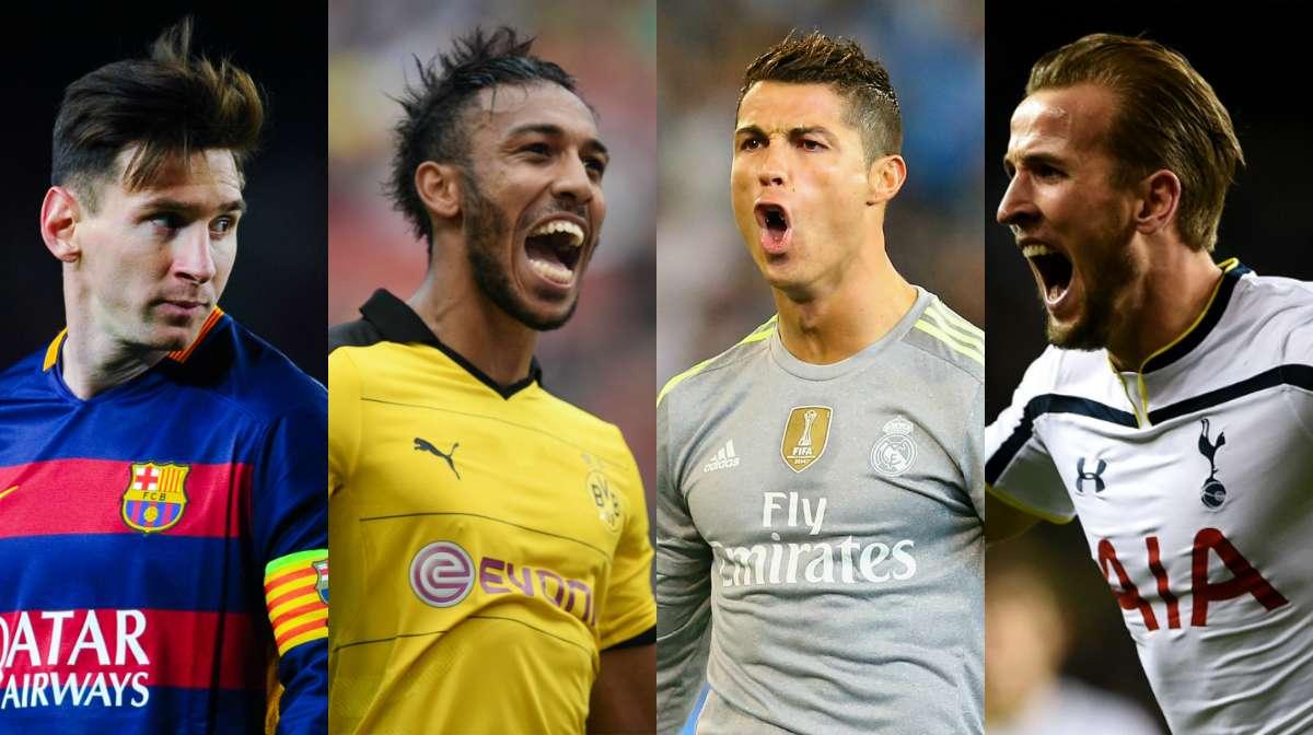 Top 20 goalscorers in 2015