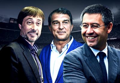 Barcelona president race GFX