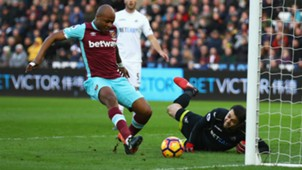 HD Andre Ayew Swansea West Ham