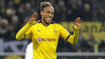 Pierre-Emerick Aubameyang Borussia Dortmund Augsburg Bundesliga