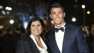 Ronaldo film premiere Cristiano Ronaldo and his mother, Maria