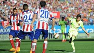 Messi winner Atletico