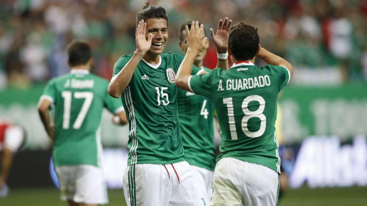 Hector Moreno Andres Guardado Mexico Friendly 05282016