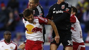 Damien Perrinelle Bobby Boswell New York Red Bulls D.C. United MLS 03222015