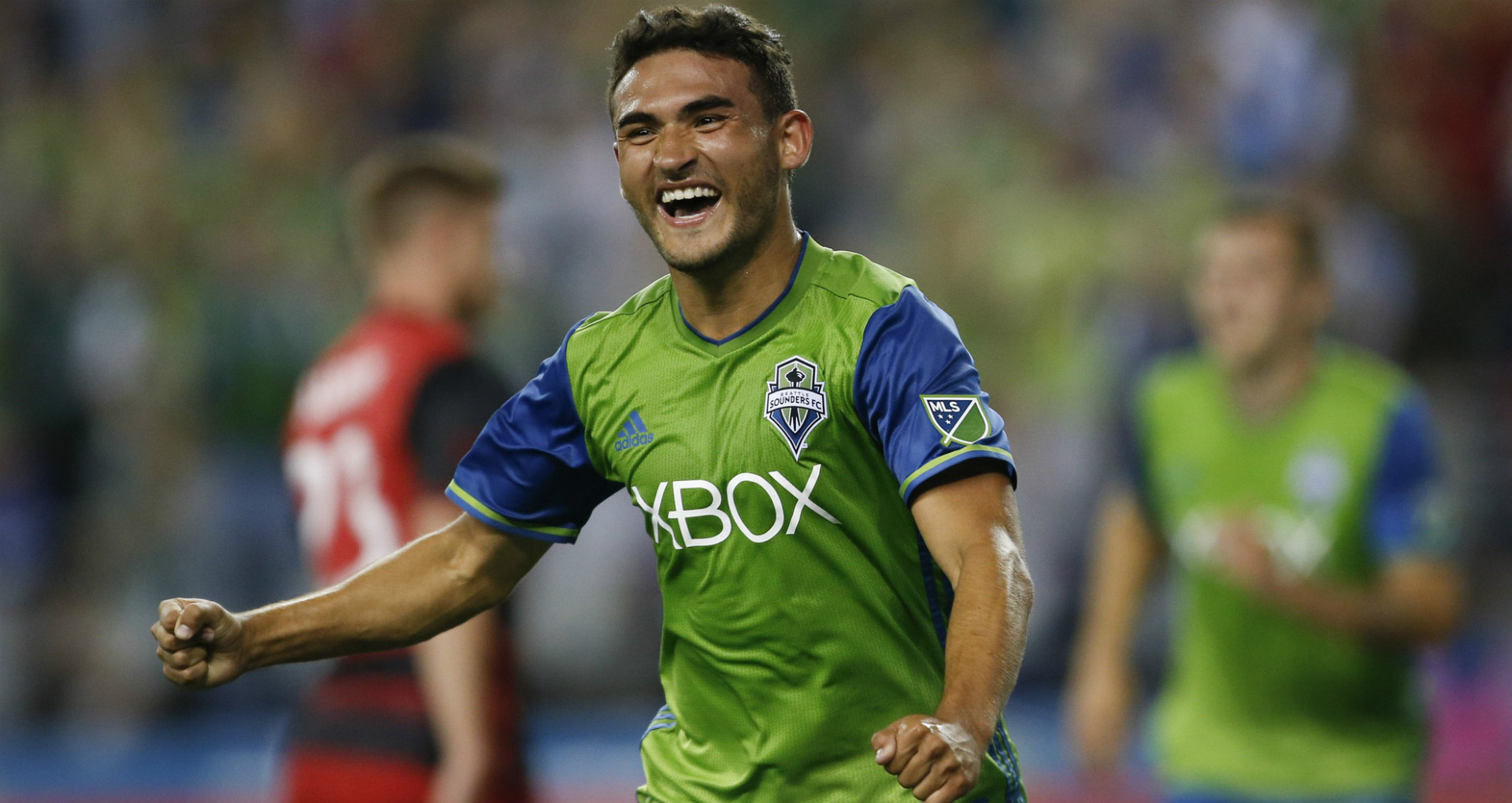 Cristian Roldan Seattle Sounders MLS 08212016