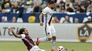 Sebastian Lletget Jermaine Jones LA Galaxy Colorado Rapids MLS 10302016