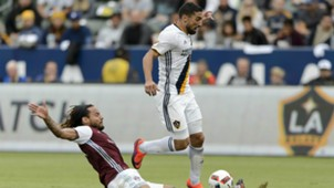 Sebastian Lletget Jermaine Jones LA Galaxy Colorado Rapids MLS 10302016