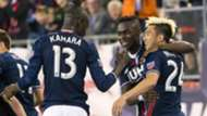 Kei Kamara Lee Nguyen MLS New England 05142016