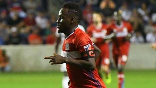 David Accam Chicago Fire MLS 082416.jpg