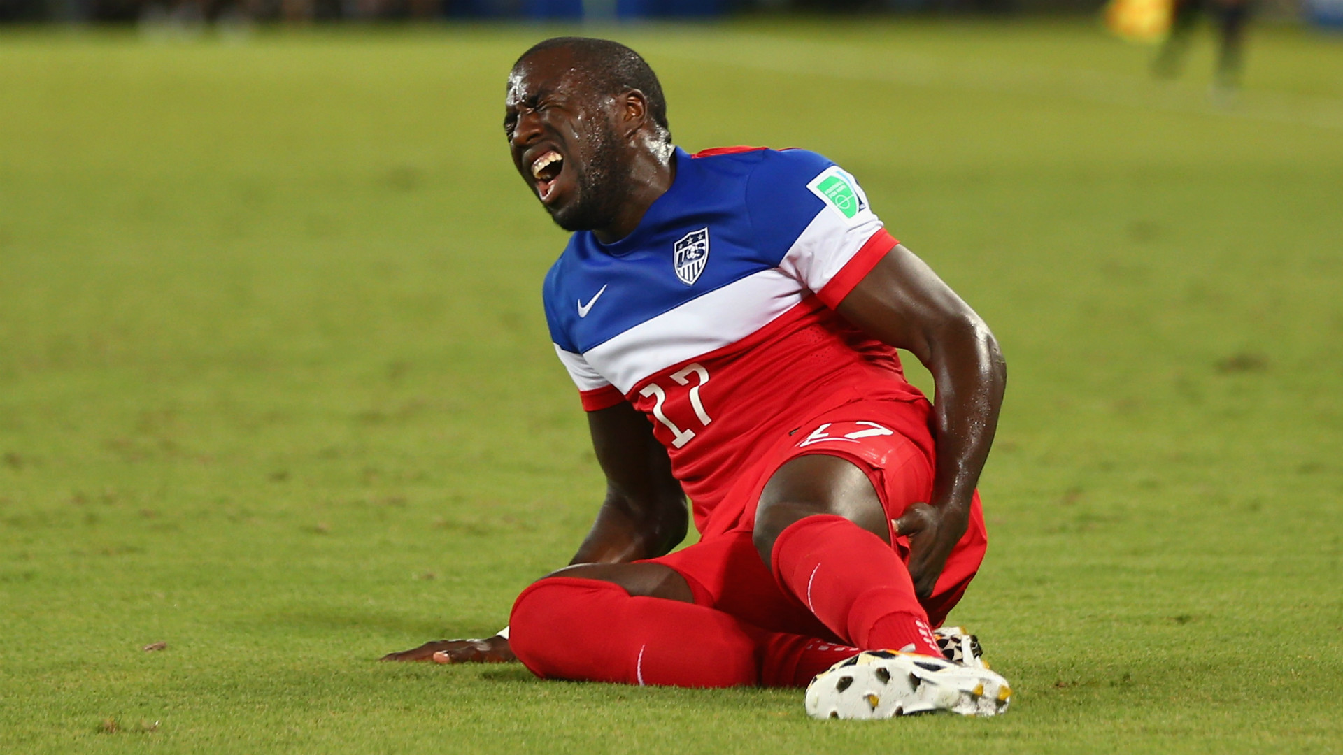 Jozy Altidore hamstring injury USA World Cup 06162014