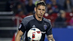 David Bingham San Jose Earthquakes MLS 04242016