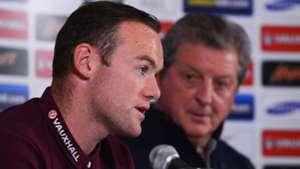 Wayne Rooney Roy Hodgson England 10082014
