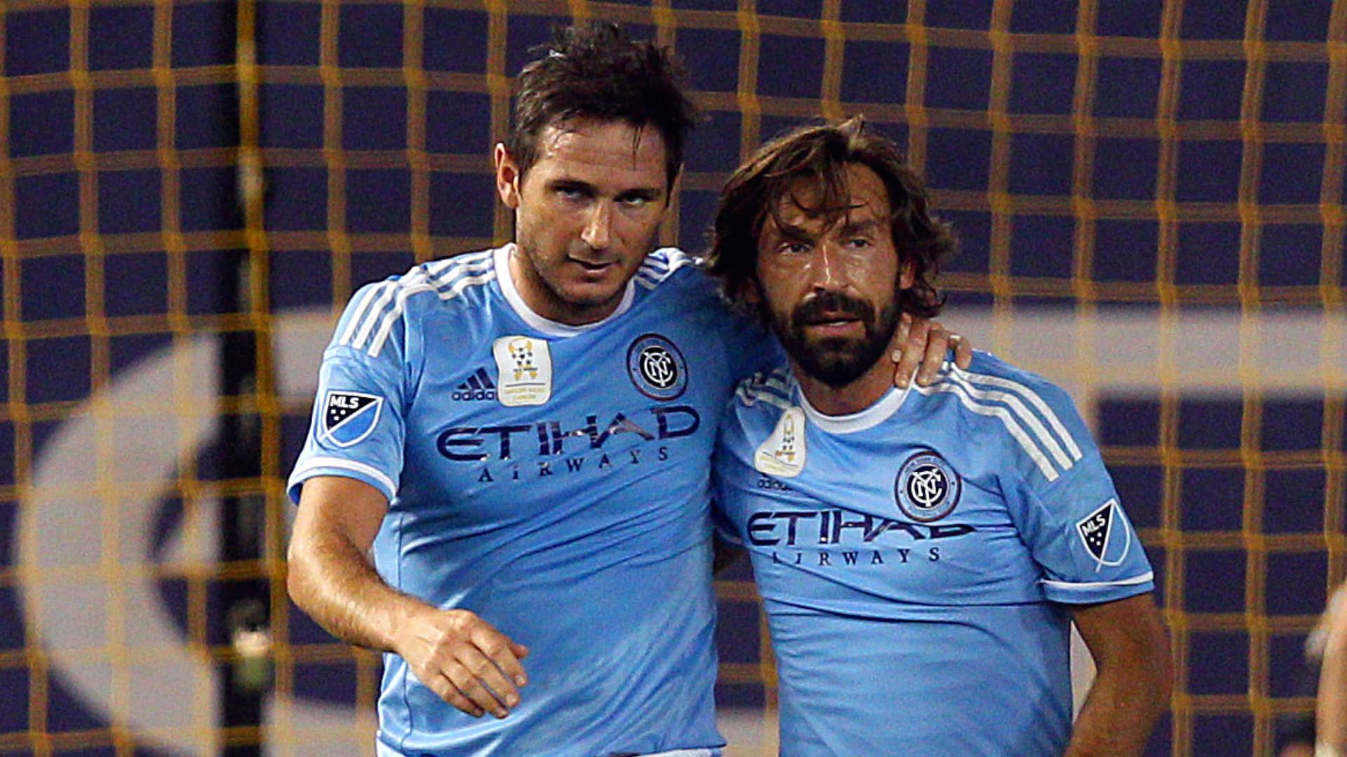 Andrea Pirlo Frank Lampard MLS 09162015