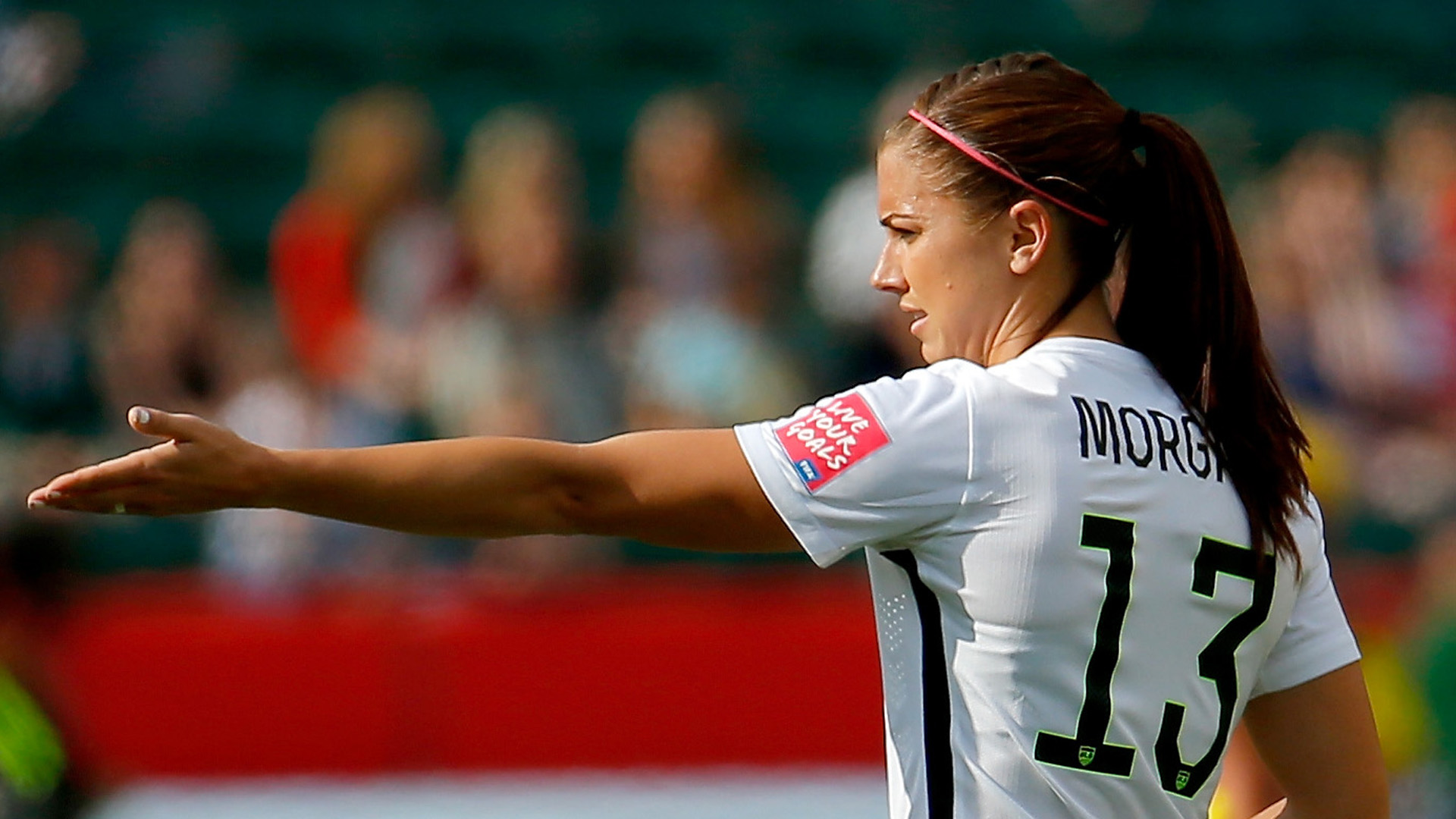 Pictures of alex morgan playing soccerst female soccer players alex morgan uswnt 06222015 goal com publicscrutiny Image collections