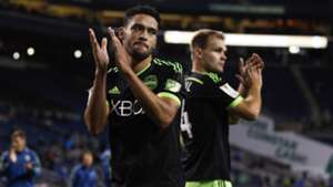Lamar Neagle Chad Marshall Seattle Sounders CCL 09232015