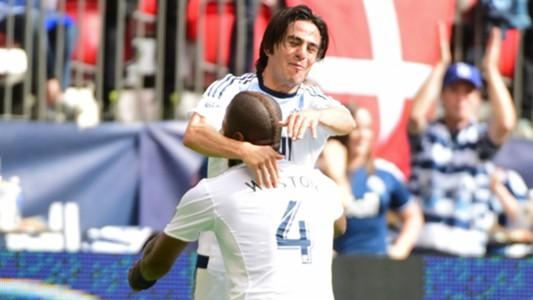 Mauro Rosales Kendal Waston Vancouver Whitecaps MLS 07262015