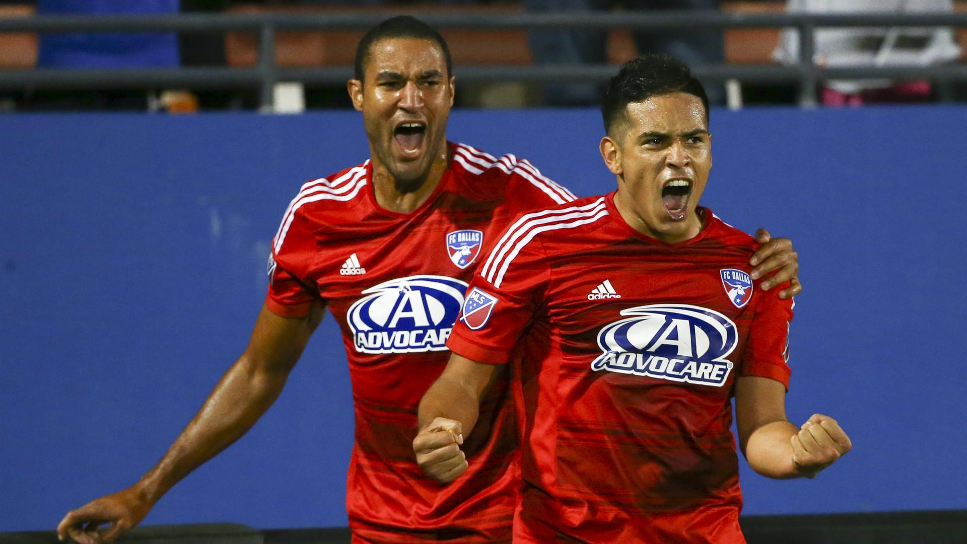 Victor Ulloa Tesho Akindele FC Dallas MLS 10252015