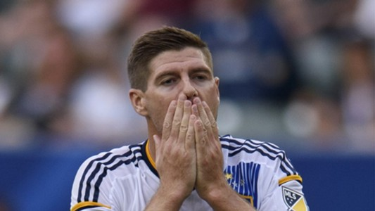 Steven Gerrard LA Galaxy 10182015
