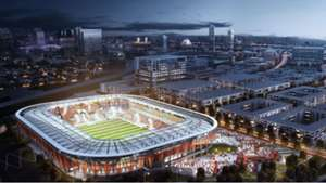 Sacramento Stadium Rendering