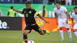 Giovani Dos Santos Mexico New Zealand friendly 10082016