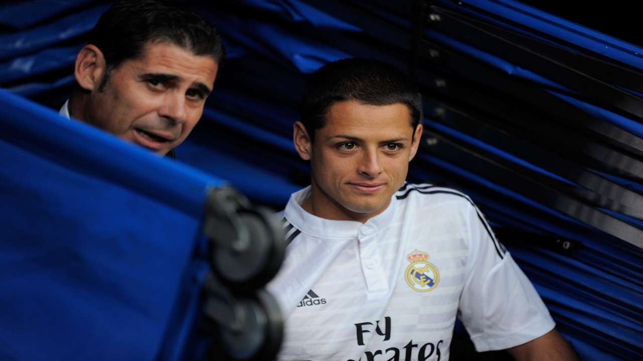 Javier Chicharito Hernandez Real Madrid La Liga 09192014
