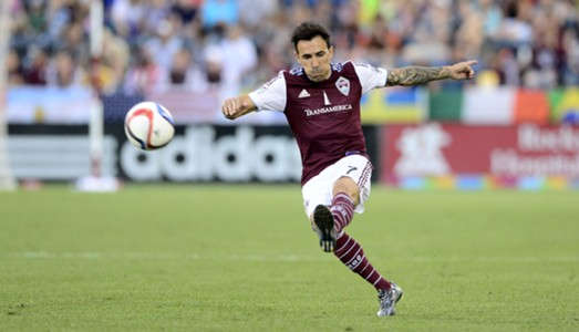 Vicente Sanchez Colorado Rapids MLS 082262015