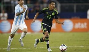 Jose Juan Gallito Vazquez Mexico Argentina International Friendly