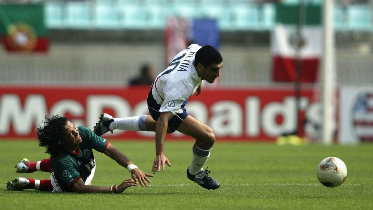 Claudio Reyna 2 USA Mexico 2002