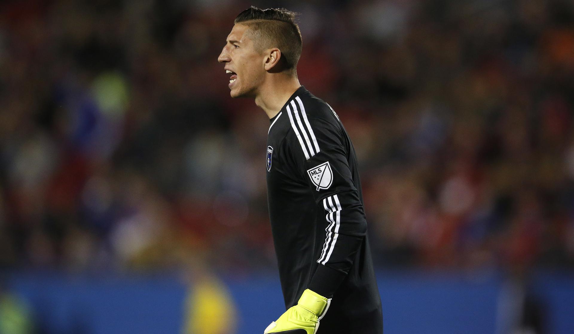 David Bingham San Jose Earthquakes MLS 03072015