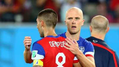 Clint Dempsey and Michael Bradley USA 06162014